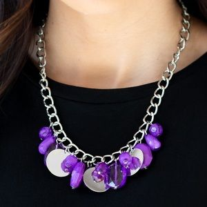 Treasure Shore Purple necklace